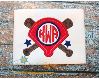 Baseball Diamond Monogram