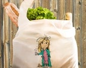 Crazy Guinea Pig Lady Veggie Bag