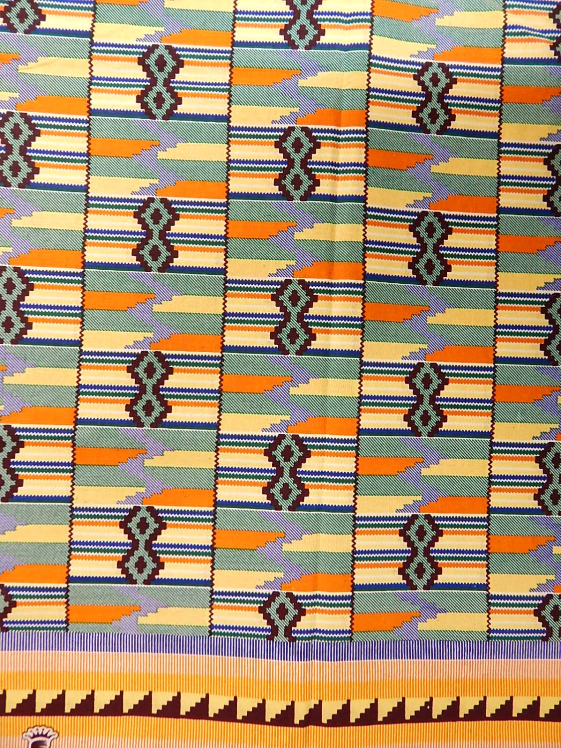 Kente african print fabric sold by the yard for Fabric sold by the yard