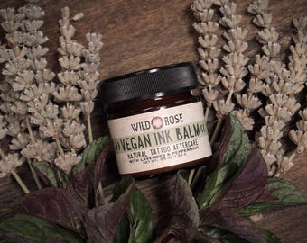 VEGAN Tattoo Aftercare INK BALM Natural Tattoo Ointment 24g // .85oz Spring