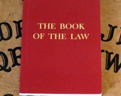 Aleister Crowley - The Book of The Law - Liber Al - Classic Magical Manuscript - Occult / Magick / Thelema - Cryptic Messages