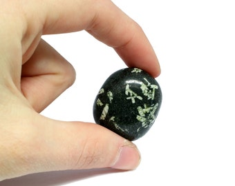 Chinese Writing Stone Polished Stone