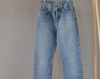 SALE High Waisted Faded Mom Jeans Vintage 90's