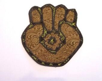 Gonzo Fist Handmade Patch Hunter S. Thompson