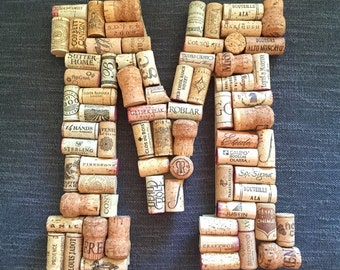 Custom Wine Cork Letter - All Letters Available