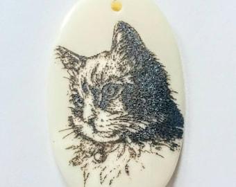 Adorable Cat Pendant Bead