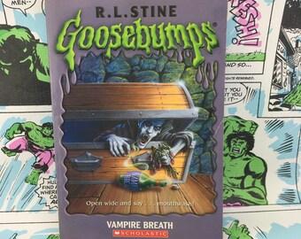 Goosebumps - Vampire Breathe - R.L. Stine - Young Adults