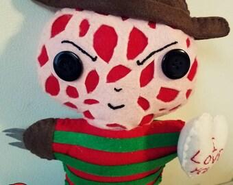 Valentine Freddy Krueger Plushie!