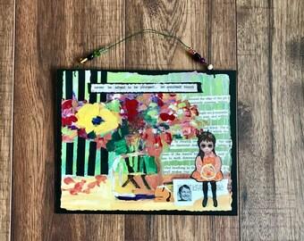 Big Eyes, Margaret Keane, Collage Art, Bloom, Inspirational Words, Walter Keane