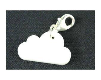 Cloud Charm Bracelet Wristlet Dangle charms Miniblings clouds sky acrylic