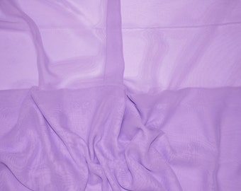 Lavender Iridescent two tone sheer Chiffon drapery wedding appeal fabric 50 yards