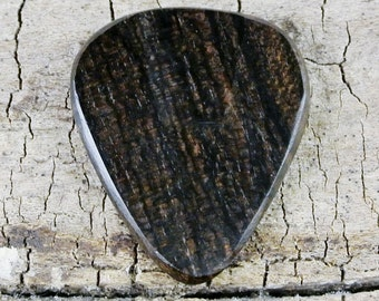 Ziricote - Wooden Guitar Pick - Wood Guitar Pick - Wood Plectrum - Exotic Wood - Wood Gift