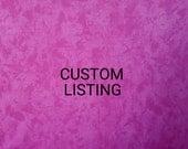 Custom listing for Joelle