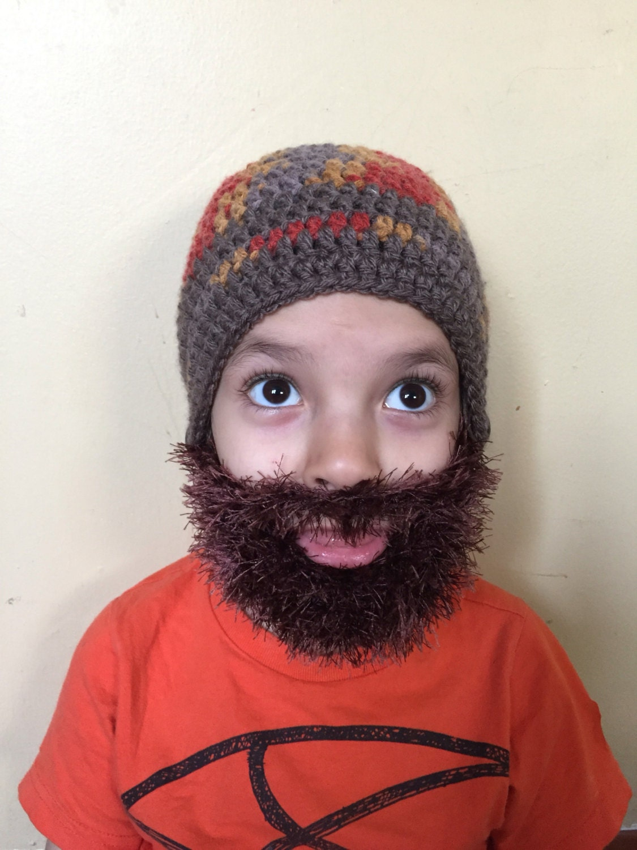 b1e97fdbc17 Handmade Crochet Beard hat