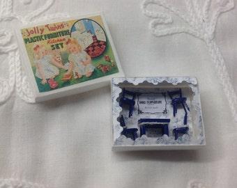 Little Furniture box, dollhouse miniature