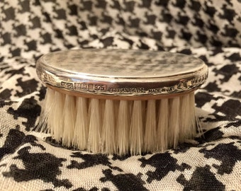 Vintage Sterling Tiffany and Co. Grooming Brush Natural Bristles Unused English