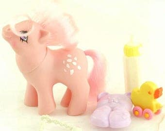 G1 Baby Cotton Candy My Little Pony