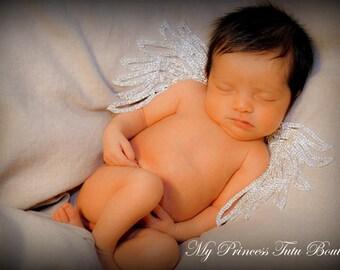 Newborn Angel Wings, Newborn Rhinestone Wings, Newborn Photo Props, Baby Angel Wings, Rhinestone Wings, Newborn Photography