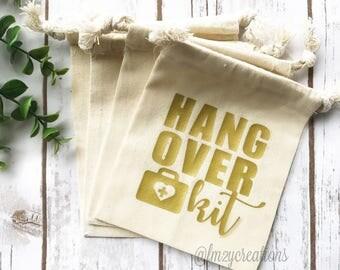 Hangover Kit | Hangover Kit Bag | Bachelorette survival kit | Bachelorette Party Bag | Hangover Bag | Wedding Favor Bag | Bachelor Party Kit