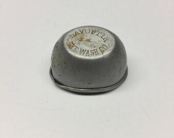 1920 LAVOPTIK Eye Wash Co. ~ Aluminum Eye Bath Cup