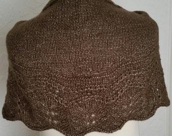 Knitted shawl,shawlette,scarf