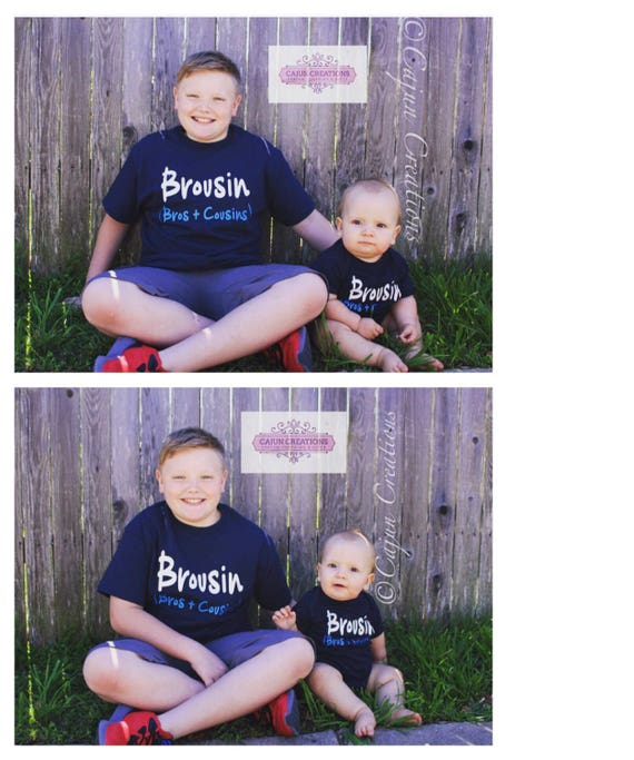 Big cousin little cousin shirts, Brousin, Bro cousins shirts, cousin gift, big cousin shirt, little cousin, shirt or baby bodysuit