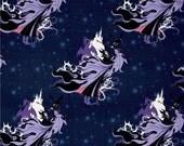 Méchants de Disney maléfique sur marine de Camelot tissus