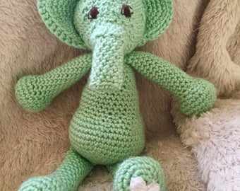 Unisex Stuffed Elephant for Newborn