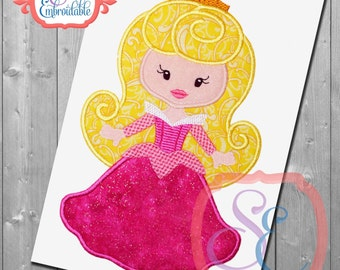 Girl's Princess - Disney Applique Birthday shirt - Custom colors available - birthday party - custom princess shirt
