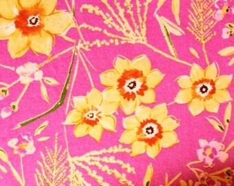 "FreeSpirit Designer Dena Designs ""Sunshine"" Collection Jasmine Pink - One Yard -  More Yards Available"