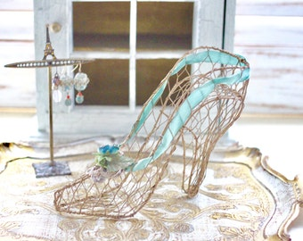 Vintage Wire Shoe Form