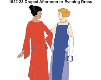 RH1207 -- 1920s Evening Gown