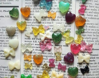 Mini Bows and Hearts Lot