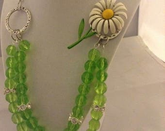 Repurposed Necklace and Earrings
