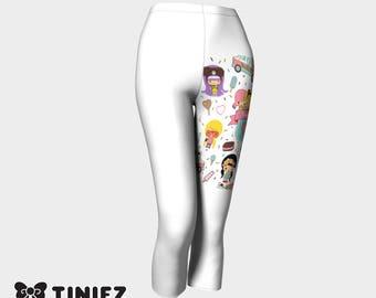 Tiniez Crop Pants - White