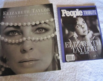 "Authentic Elizabeth Taylor: ""My Love Affair with Jewelry"" Book"