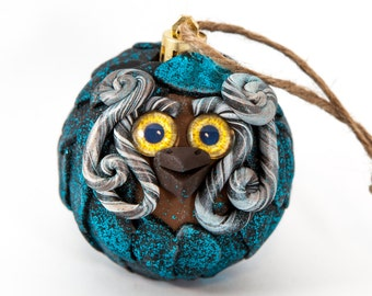 Kesh - Polymer Clay Owl Ornament