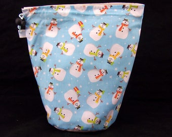 R/M/S/W Project bag 595 Snowmen