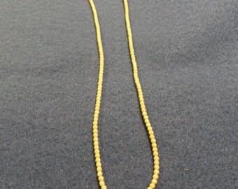 Vintage Bone Beads Necklace