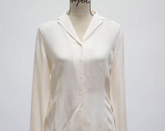 Vintage Ann Taylor Silk Top