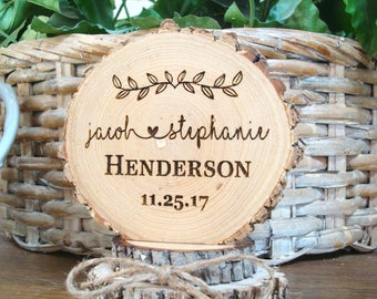 Rustic Cake Topper, Custom Cake Topper, Wedding Cake Topper, Wood Cake Topper, Cake Top, Engraved Cake Topper, Cake Toppers, Personalized