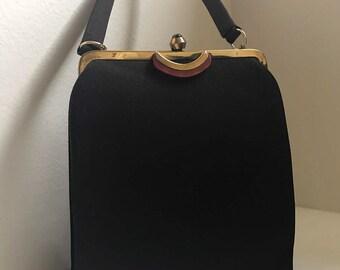 Ingber & Company Brown Art Deco Handbag