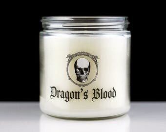 Large Scented Candle - Dragon's Blood - Vlad - Vampire