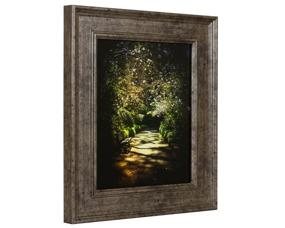 Craig Frames 24x36 Inch Tarnished Silver Picture Frame