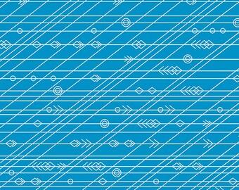 PRESALE - Diving Board - Latitude in Tide - Alison Glass for Andover - A-8639-T - 1/2 yd