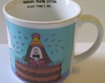 Vintage Cathy Coffee Mug - Happy Birthday
