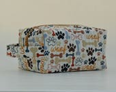 Woof & Bone Dog Treat and Toy Boxy Bag with Handle