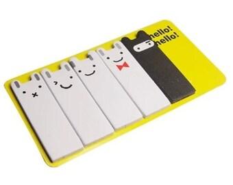 Cute Sticky Notes Bookmark Rabbit Sticky Notes
