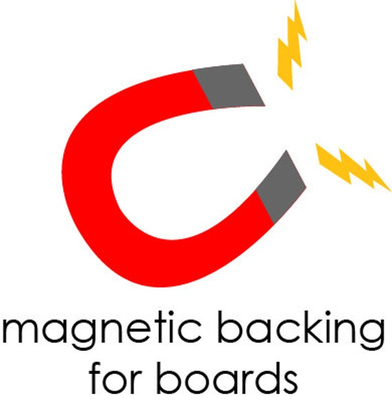 Magnetic Backing