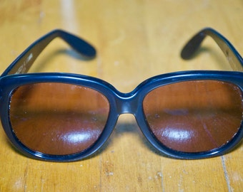 Vintage Donna Karan New York Black Rx Sunglasses